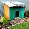 Dog Kennel Garden